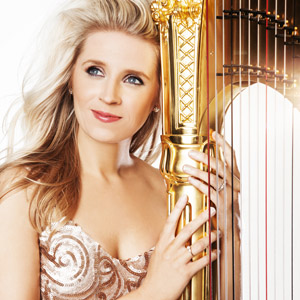 Claire Jones, harpist